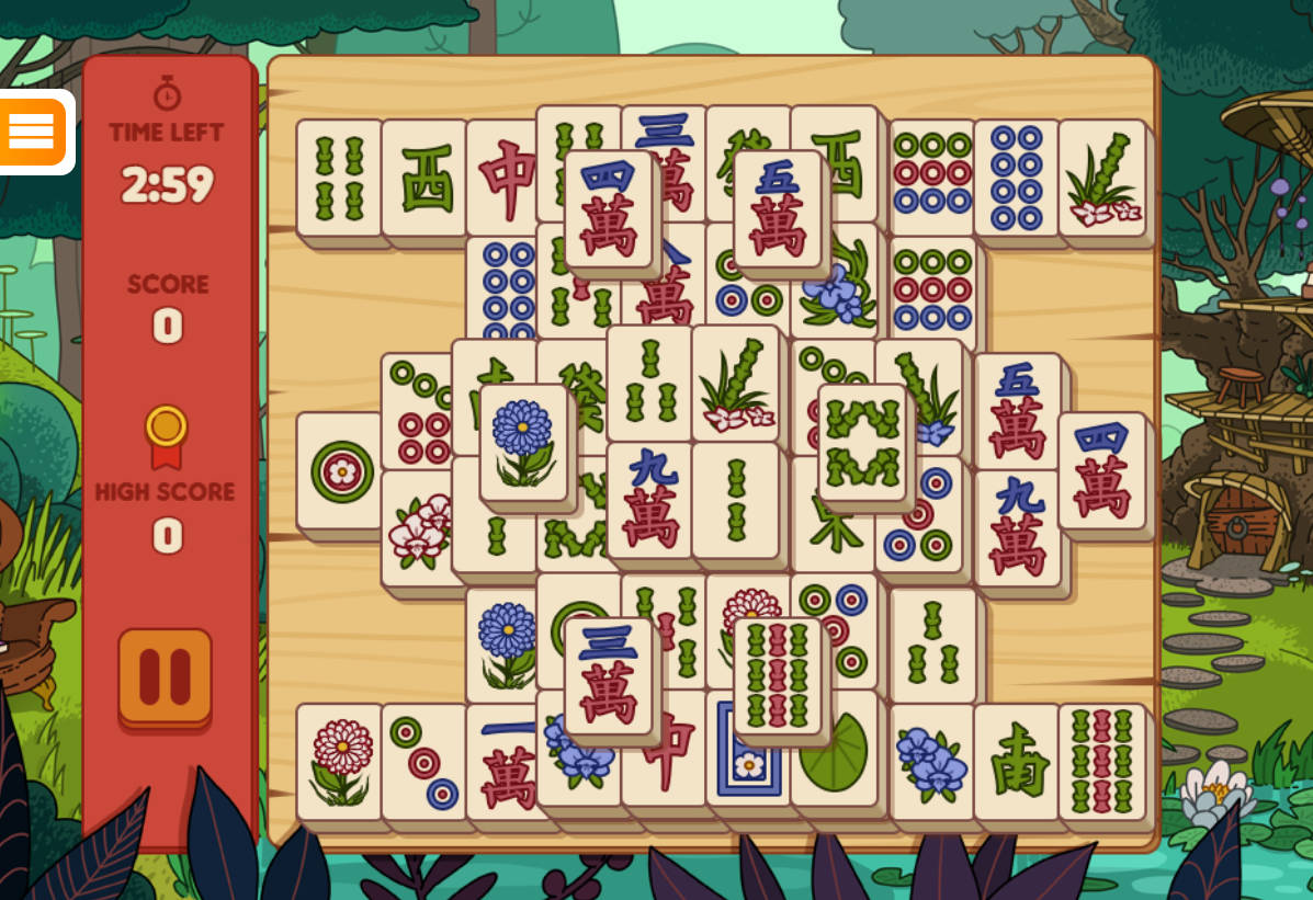 Forest Frog Mahjong bei GMX Games