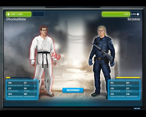 Operation X kämpfen Sie gegen andere Mitspieler