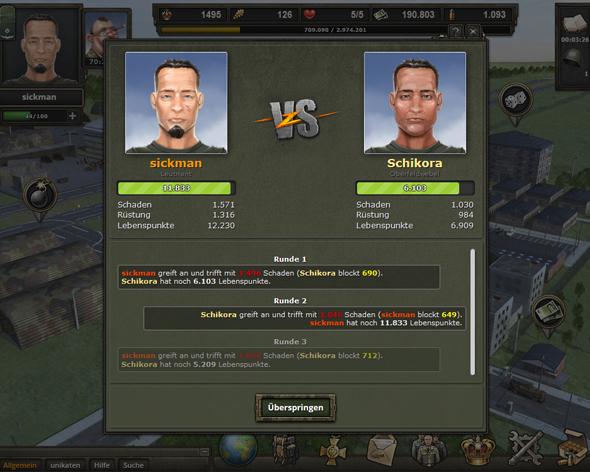 Soldaten Spiele Online