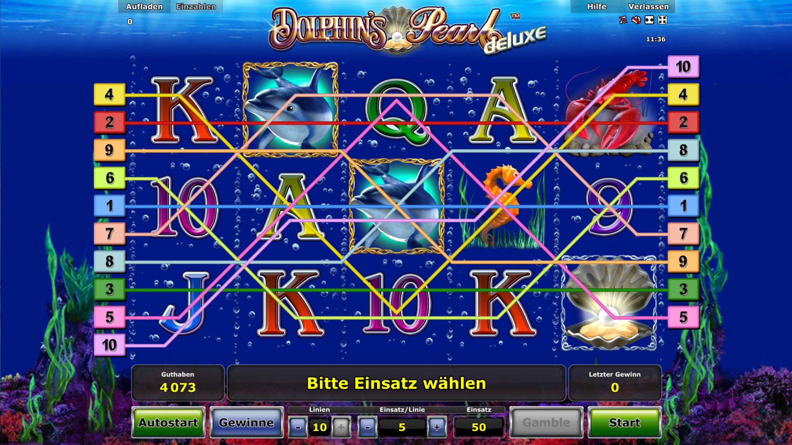 dolphin pearl slot gratis
