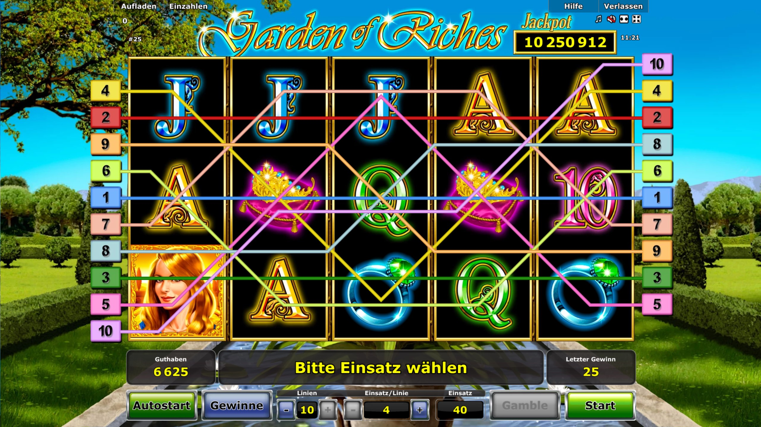 garden of riches gratis