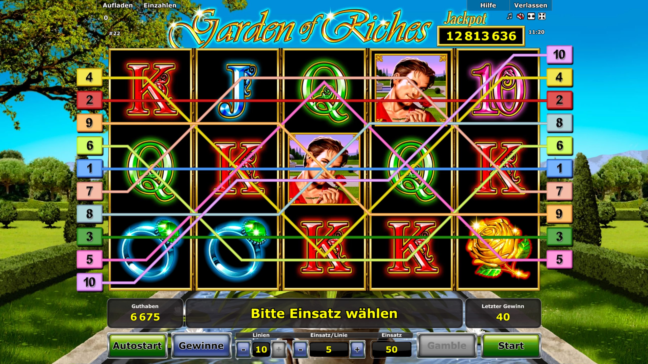 garden of riches casinos