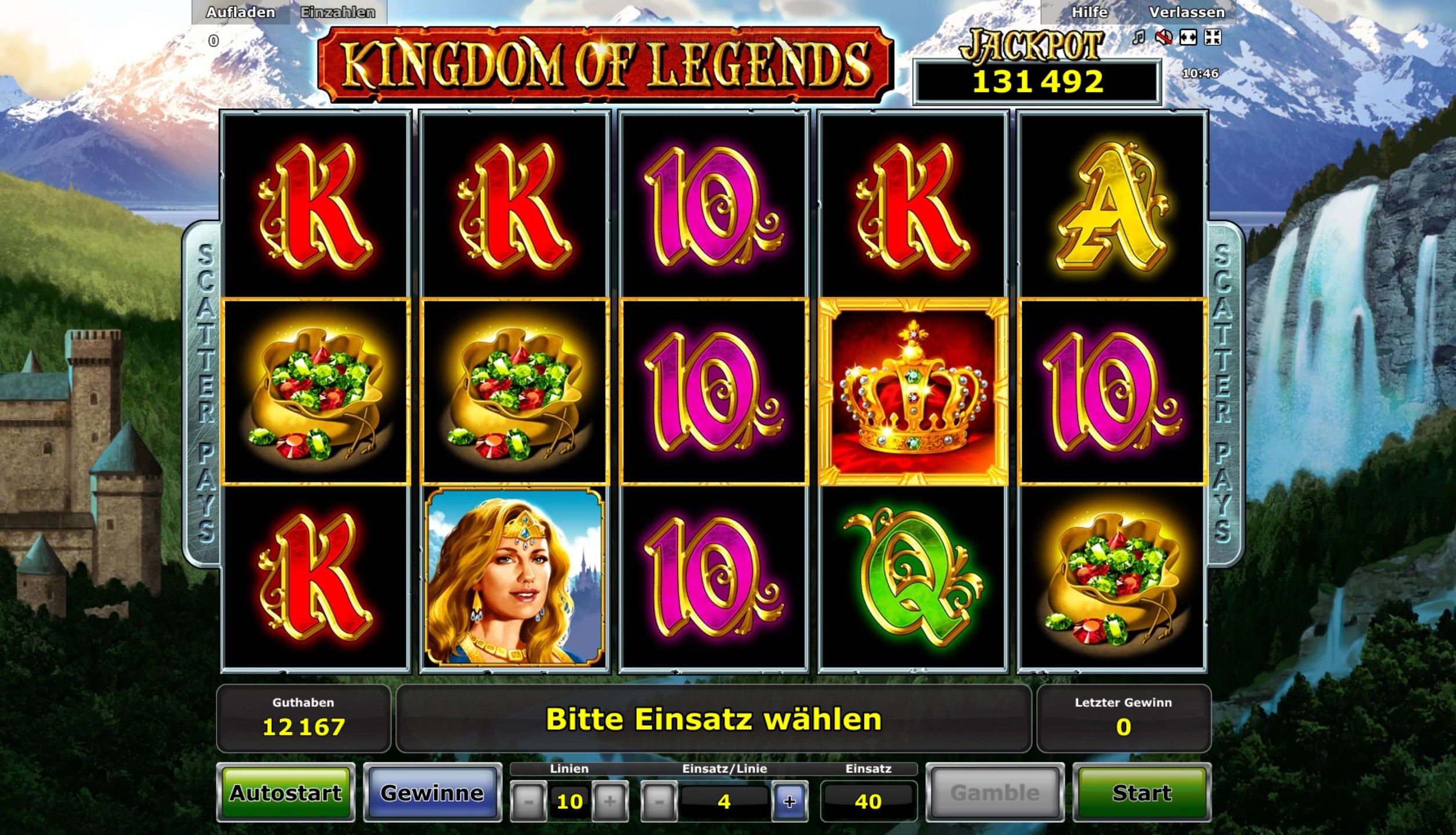 kingdom of legends spielen