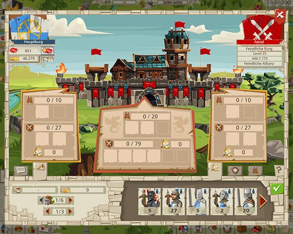 Goodgame Empire planen Sie Ihre Verteidigung