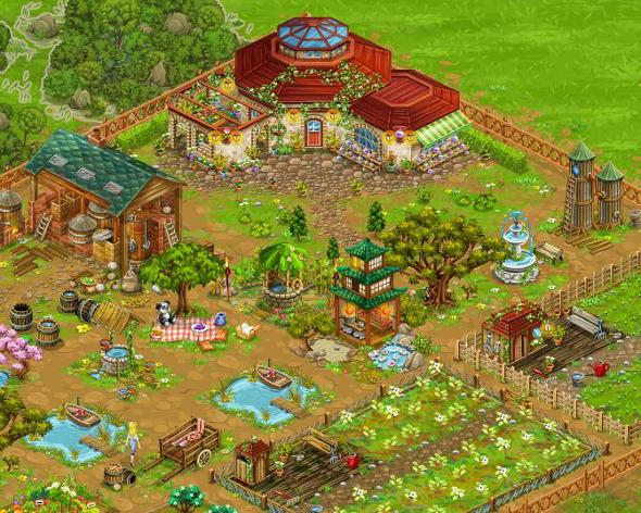 Big Farm: Visit the flower farm.