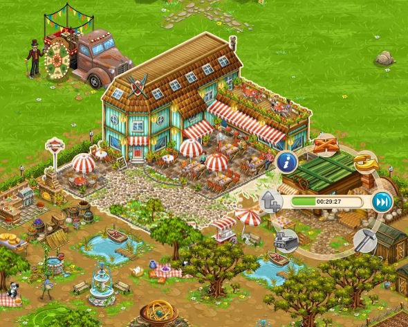 "Big Farm: Visit the ""Schlemmerfarm"""
