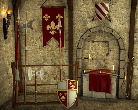Die Stämme Ritter und Burgen