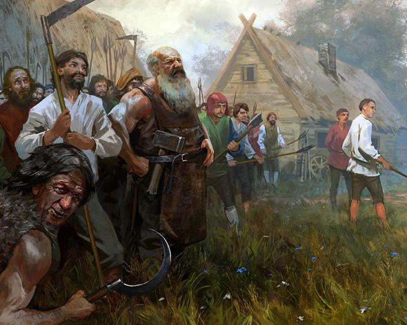 Die Stämme kümmern Sie sich Ihr Volk