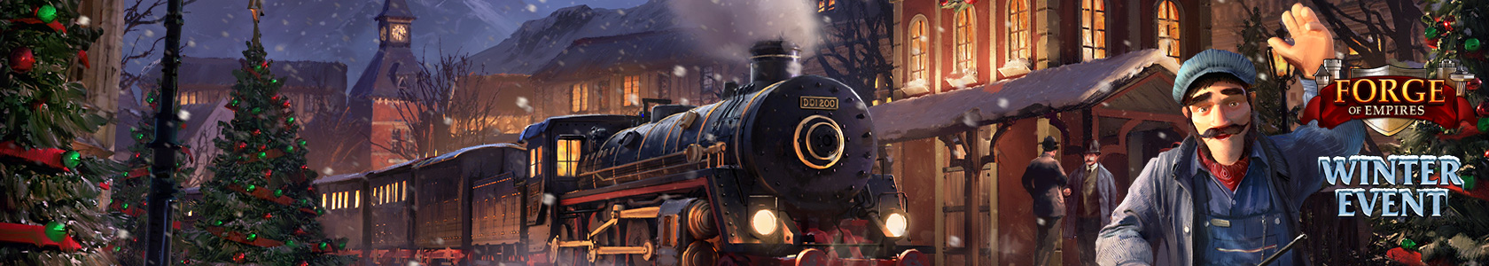 Forge of Empires - Spielen Sie das Winter-Event!