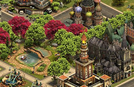 Forge of Empires - Erbauen Sie mächtige Gebäude