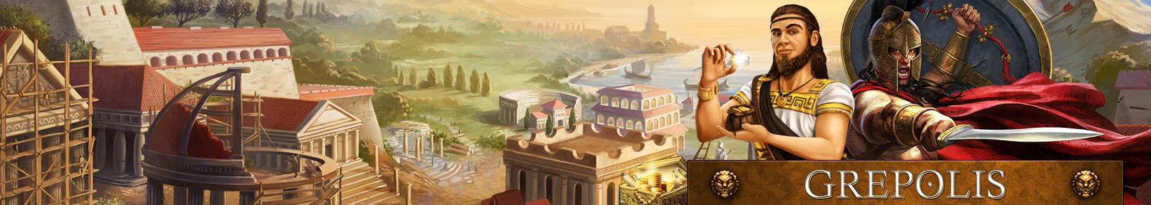 Grepolis, spielen Sie in der griechischen Antike