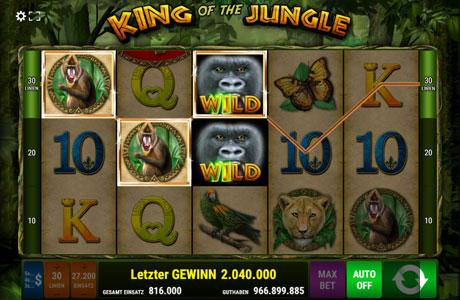 Dschungel Wahnsinn - Drehen Sie an der Slot Machine!