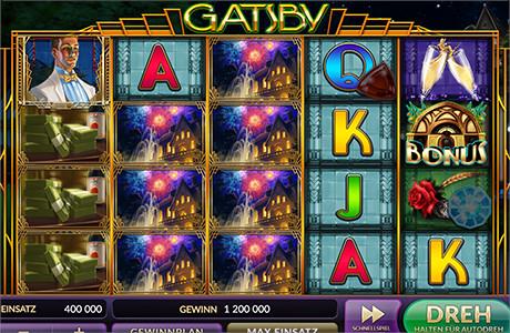 Gatsby - Gewinnen Sie Chips!