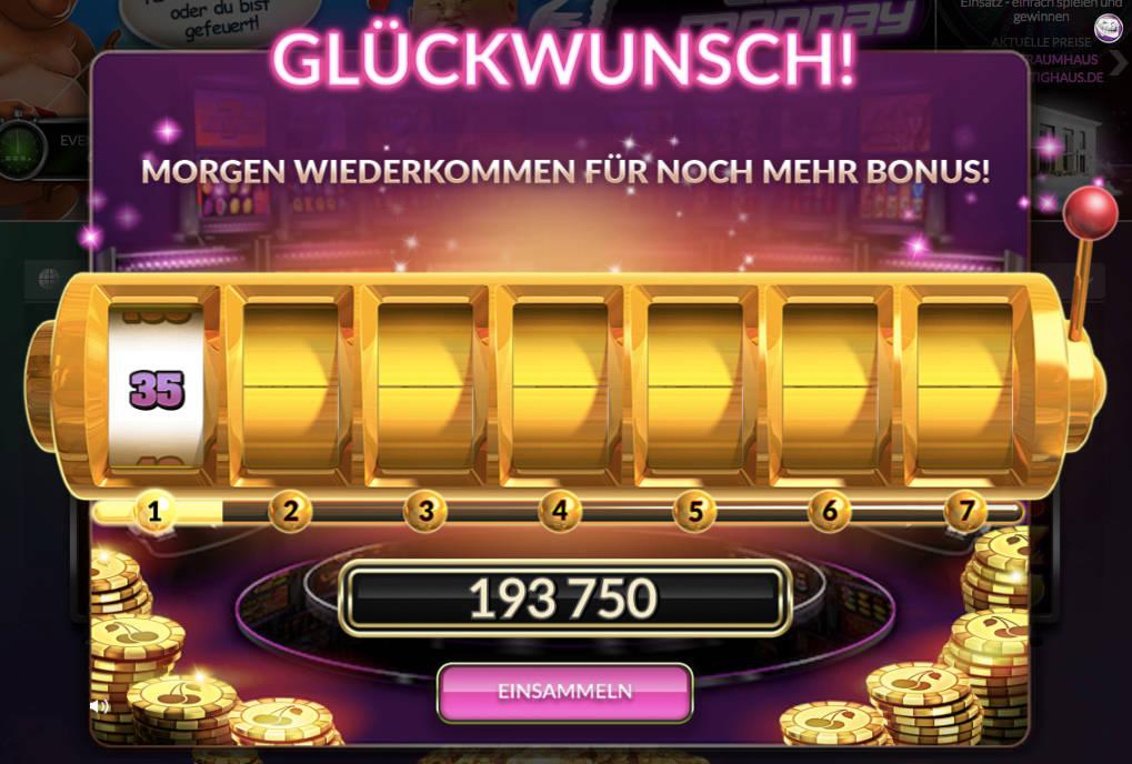 Gmx Jackpot