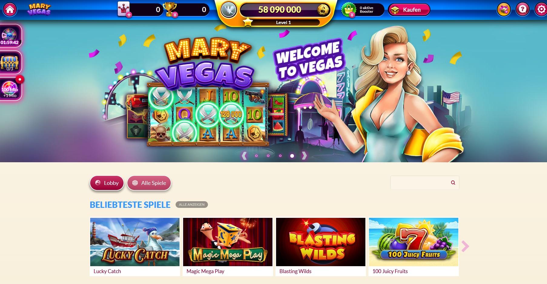 Mary Vegas - Willkommen zu Las Vegas!