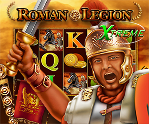 Roman Legion Xtreme Jackpot-Spiel