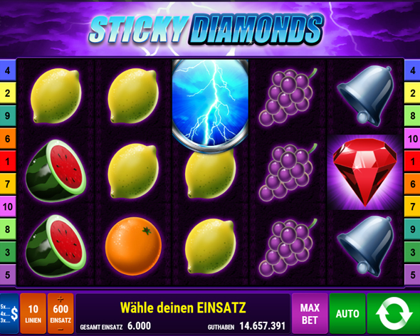 sticky diamonds spielen