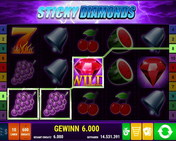 sticky diamonds spielen