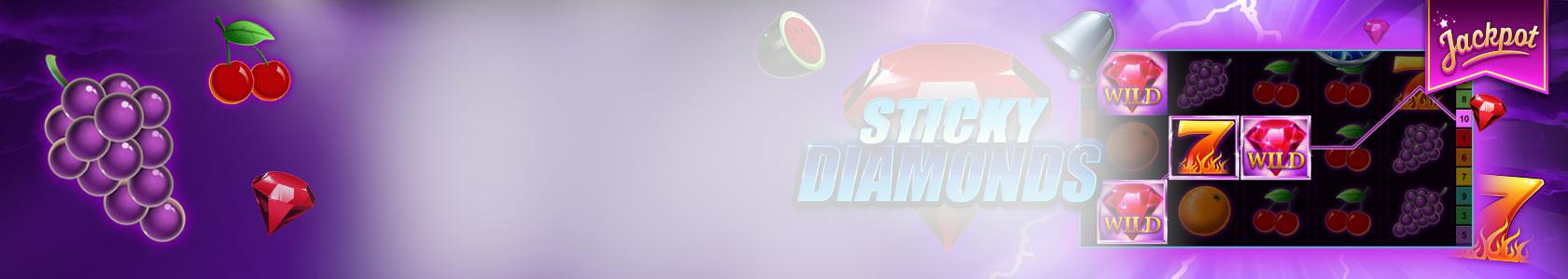 The sticky diamons slot
