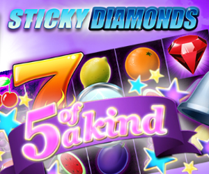 Sticky Diamonds Jackpot Spiele