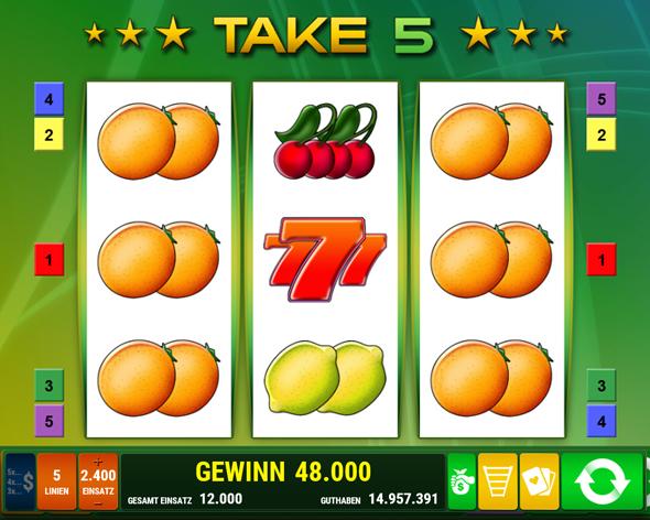 take 5 spielen