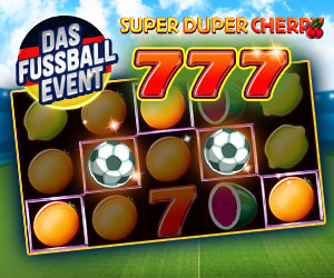 Super Duper Cherry Fussball Event