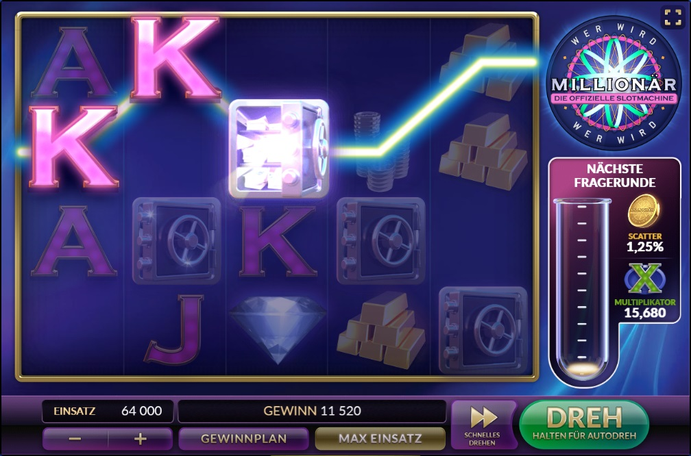 Play now the millionaire slot