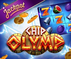 Chips Olymp Jackpot-Spiel