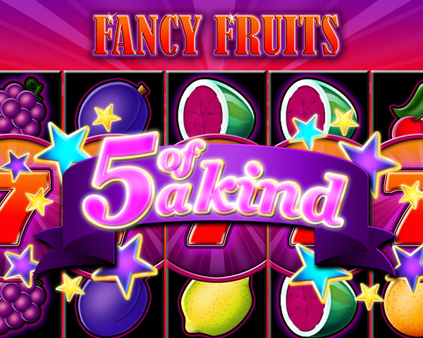 Fancy Fruits 5 of a Kind shiny