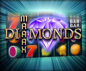 Maaax Diamons Jackpot-Spiel