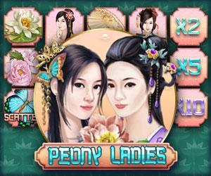 Peony ladies Jackpot-Spiel