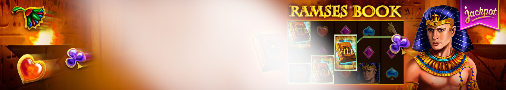 Win with the Ramses Book slot
