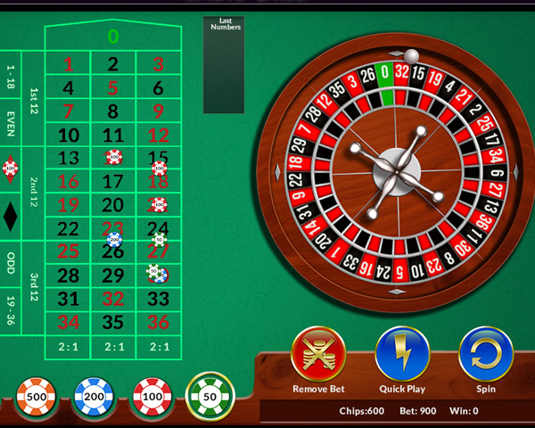 roulette online gratis flash game