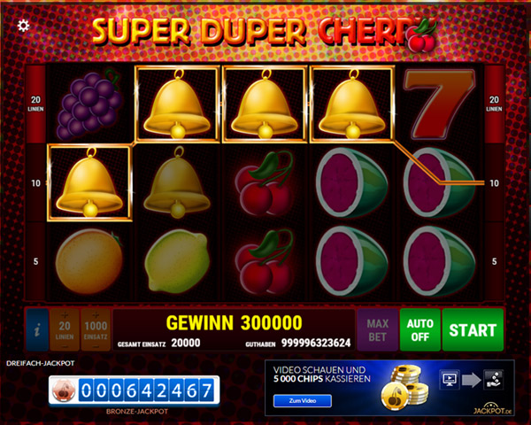 super duper cherry spielen
