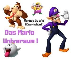 Kennen Sie alle Gegenspieler von Mario?