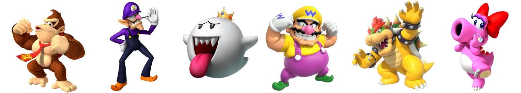 Wer sind denn die Bösewichte in den Mario Spielen?