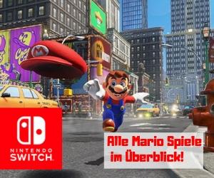Mario Spiele für Nintendo Switch