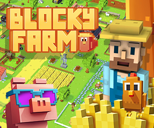 Blocky Farm - die charmante Farm-Welt