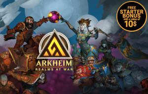 Arkheim: Realms at war. Global Launch.
