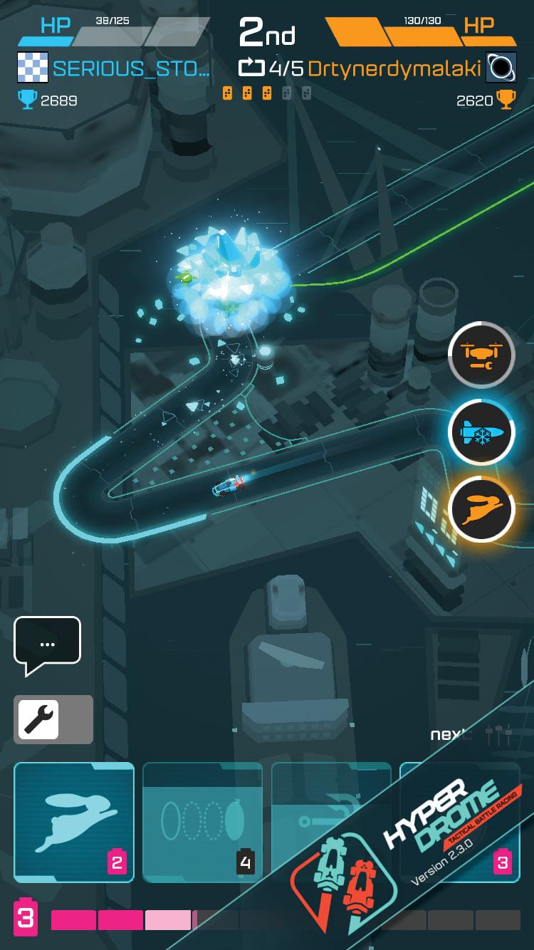 Hyperdrome - Power-ups