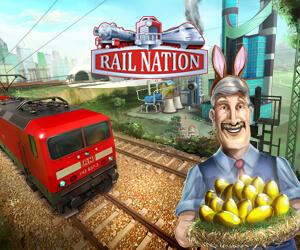 Rail Nation - Jetzt Ostereier suchen!