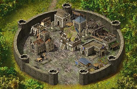 Stronghold Kingdoms - befestigen Sie Ihre Burg!