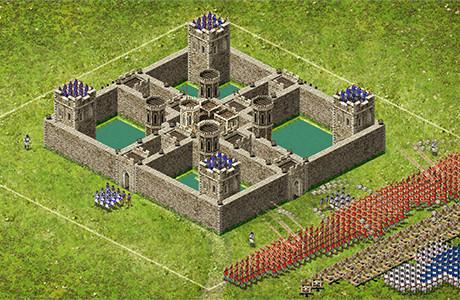 Stronghold Kingdoms - Erobern Sie andere Burgen!