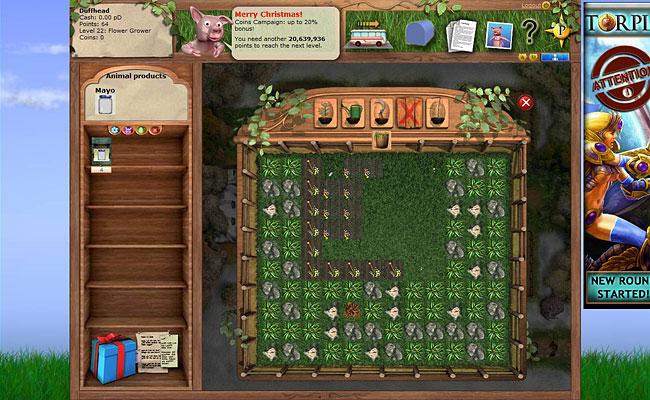 Harvet many different crops.