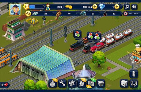 Rail World - Ihre eigene Zug-Flotte!