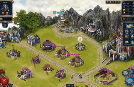 Sky Empire - bauen Sie Ihre Festung auf!