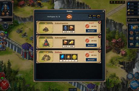 Sky Empire - Sammeln Sie Ressourcen!