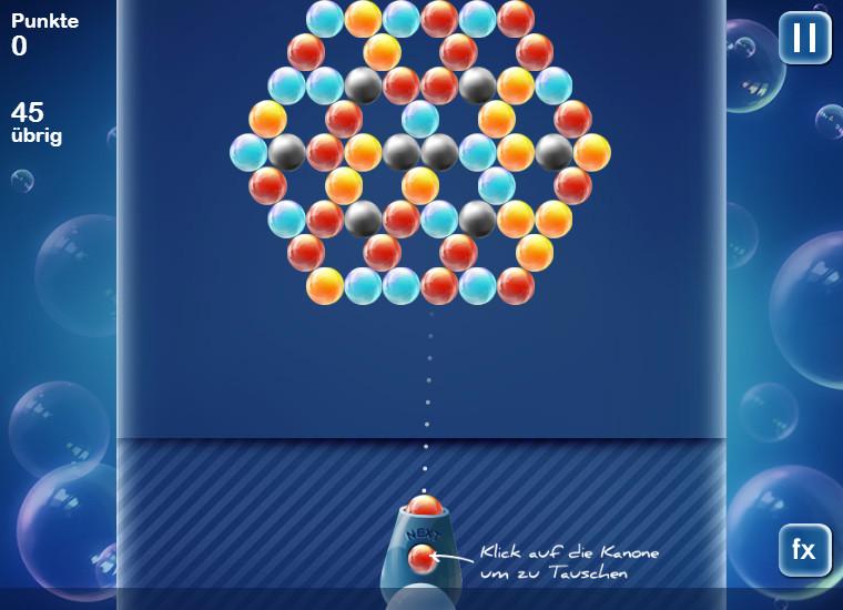 bubbles puzzle kostenlos