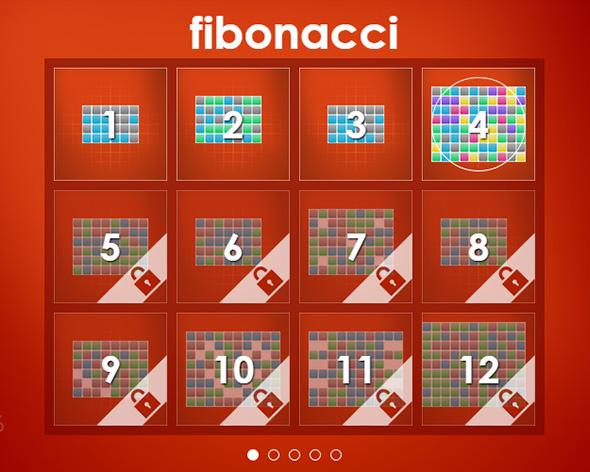 fibonacci spiel