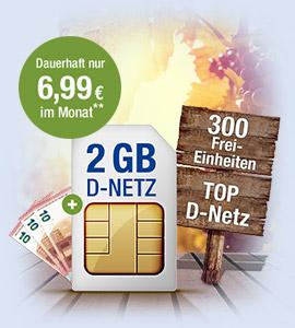 D-Netz-Qualität zum Top-Preis